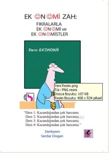 Ekonomizah; Fıkralarla Ekonomi ve Ekonomistler