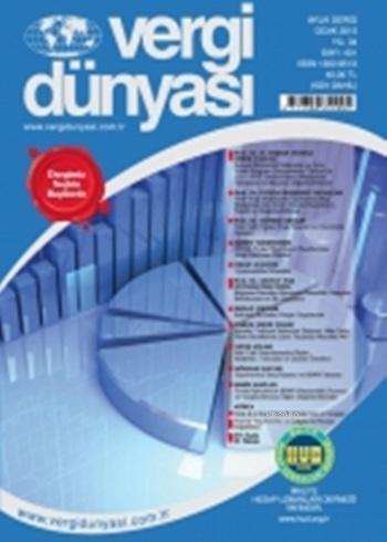 Vergi Dünyası Dergisi Ocak 2015