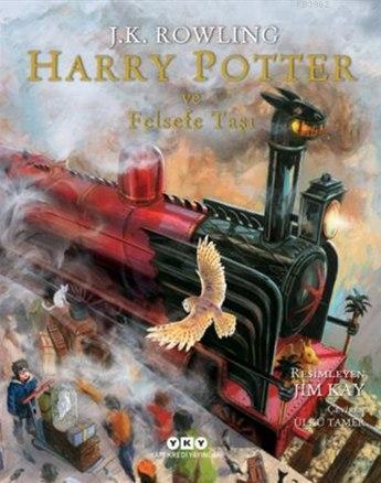 Harry Potter ve Felsefe Taşı -1 (Resimli Özel Baskı, Ciltli, 9+ Yaş)