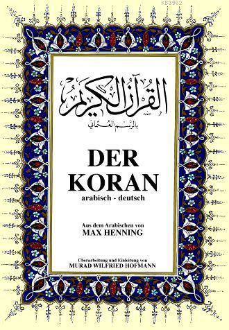 Almanca Kur'ân-ı Kerim Meâli; Büyük Boy, metinli
