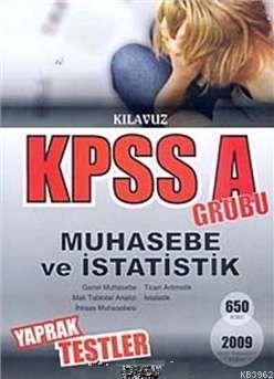 Kpss A Grubu Muhasebe ve İstatistik Yaprak Testler