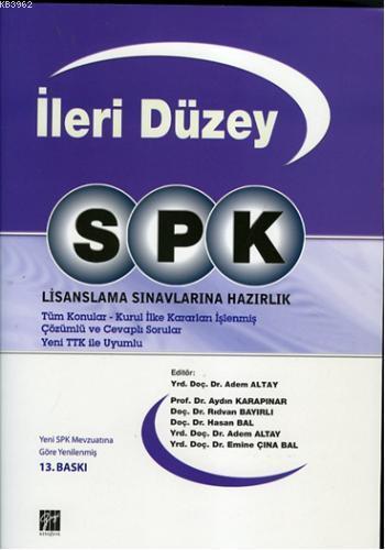 SPK İleri Düzey Lisanslama Sınavlarına Hazırlık