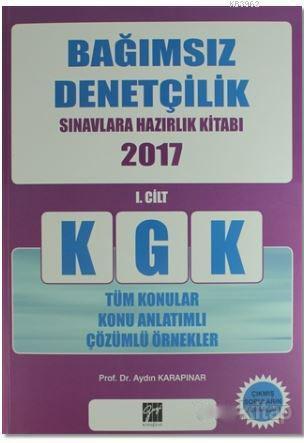 KGK Bağımsız Denetçilik Sınavlara Hazırlık Kitabı 2017 - (2 Cilt Takım)