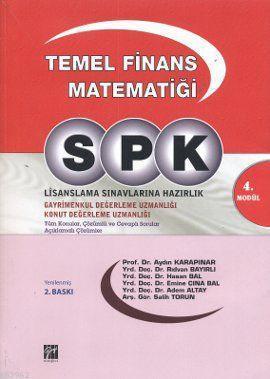 SPK / Temel Finans Matematiği