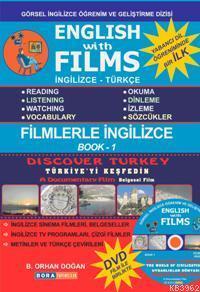 English With Films - Book: 1; İngilizce Türkçe (DVD Film Hediyeli)