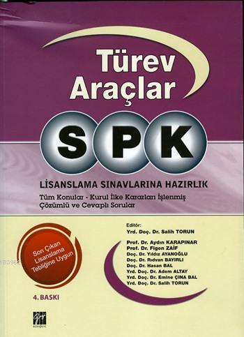 SPK Türev Araçlar; Lisanslama Sınavlarına Hazırlık