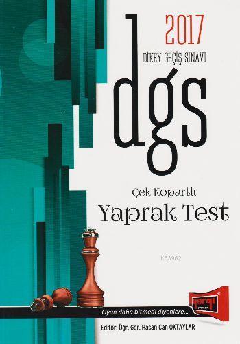 DGS Çek Kopartlı Yaprak Test 2017