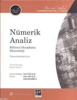Nümerik Analiz; Bilimsel Hesaplama Matematiği