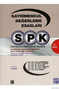 SPK / Gayrimenkul Değerleme Esasları