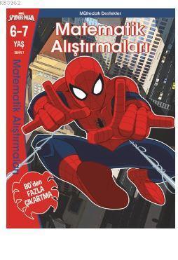 Marvel Spider- Man  Matematik Alıştırmaları 6-7  Yaş