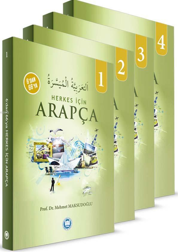 6'dan 66'ya Herkes İçin Arapça (4 Cilt Takım)