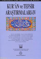 Kur'an ve Tefsir Araştırmaları 4
