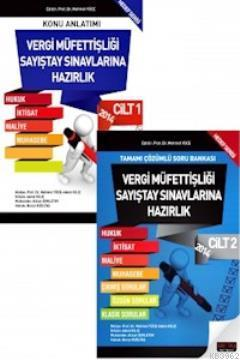 Vergi Müfettişliği Sayıştay Sınavlarına Hazırlık Kitabı 2 Cilt