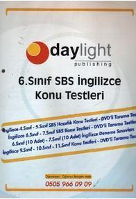 Daylight 6. Sınıf SBS İngilizce Konu Testleri