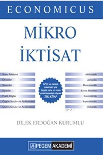 Economicus Mikro İktisat 2016; Kpss A Grubu Konu Anlatımı