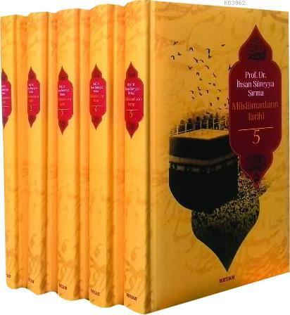 Müslümanların Tarihi (5 Cilt, Büyük Boy, Ciltli)