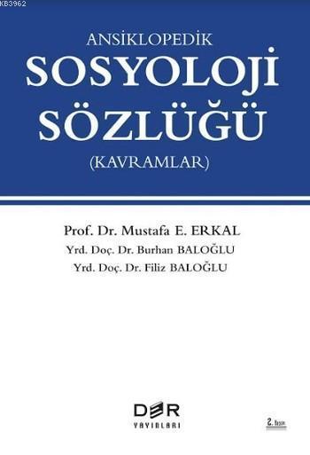 Ansiklopedik Sosyoloji Sözlüğü; Kavramlar