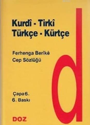 Kürtçe Cep Sözlüğü / Tırki - Kurdi