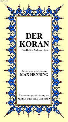 Almanca Kur'ân-ı Kerim Meâli; Küçük Boy, metinsiz