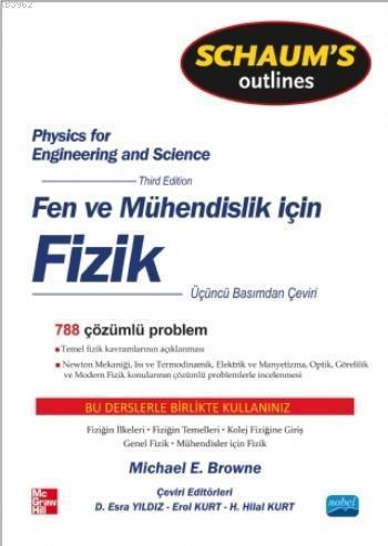 Schaum's Fen ve Mühendisler için Fizik; Physics for Engineering and Science - Schaum's
