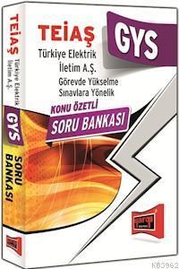 TEİAŞ - Türkiye Elektrik İletim A.Ş. Genel Müdürlüğü Görevde Yükselme Sınavı Kono Özetli Soru Bankas
