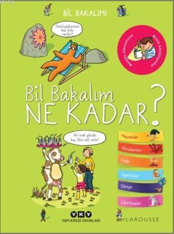 Bil Bakalım Ne Kadar?; Bil Bakalım! (3-8 Yaş) - (Çıkartmalı)