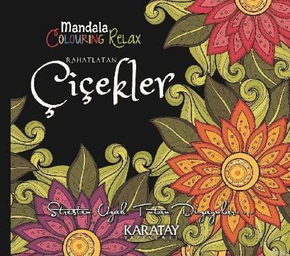 Mandala Clouring Relax Rahatlatan Çicekler