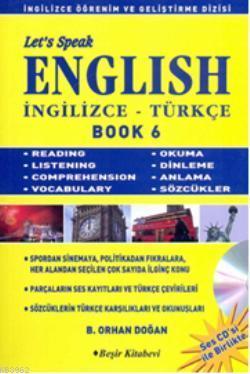 Let's Speak English Book 6; İngilizce-Türkçe