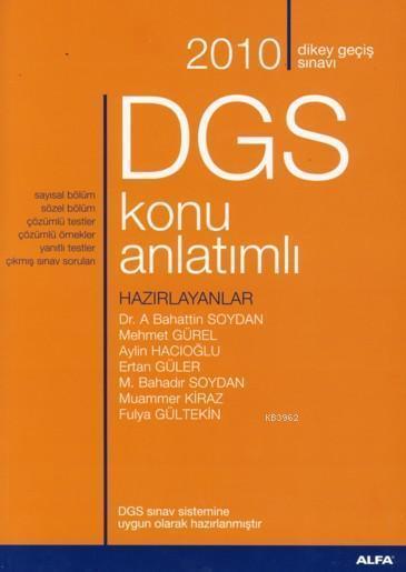 2010 DGS Konu Anlatımlı