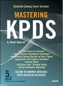 Mastering KPDS; Çözümlü Çıkmış Sınav Soruları