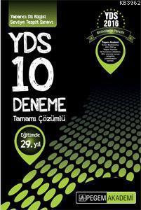 YDS Tamamı Çözümlü 10 Deneme 2014