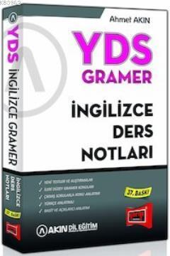 YDS Gramer İngilizce Ders Notları