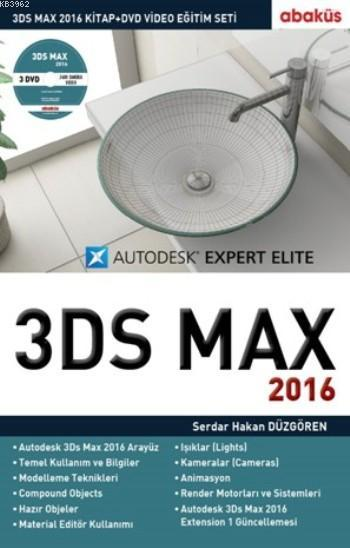 3Ds Max 2016; 3 DVD - 1 Kitap Eğitim Seti
