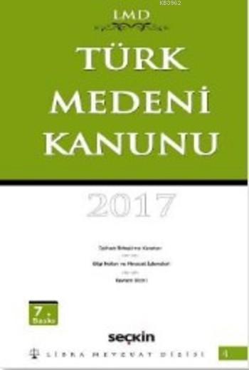 Türk Medeni Kanunu (Ciltli)