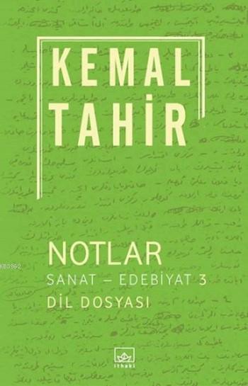 Notlar / Sanat-Edebiyat 3; Dil Dosyası
