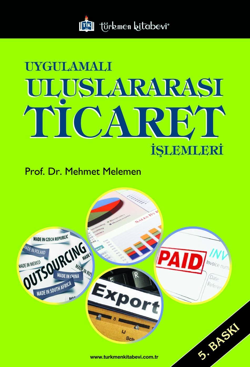 Uygulamalı Uluslararası Ticaret İşlemleri