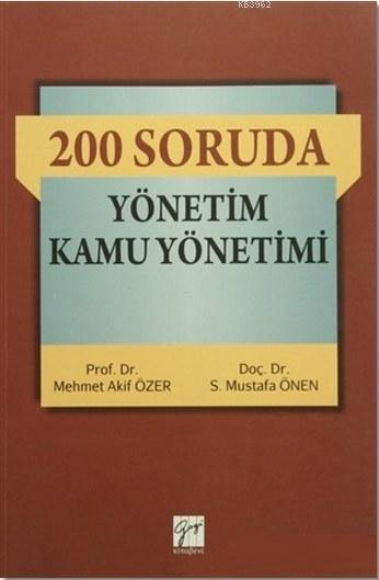 200 Soruda Yönetim Kamu Yönetimi