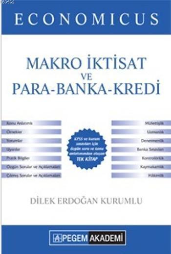 Economicus Makro İktisat ve Para-Banka-Kredi 2016; Kpss A Grubu Konu Anlatımı