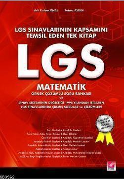 Lgs Matematik; Örnek Çözümlü Soru Bankası