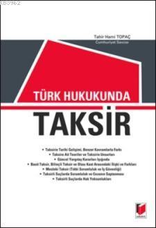 Türk Hukukunda Taksir