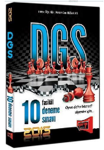 DGS Tamamı Çözümlü 10 Deneme Sınavı