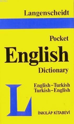 Pocket English Dictionary; İngilizce-Türkçe Türkçe-İngilizce