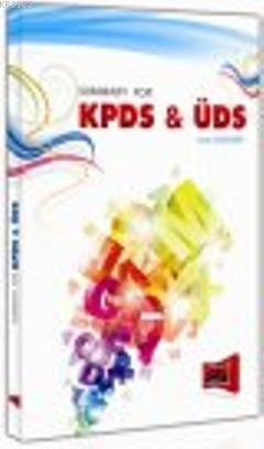 Summary For KPDS- ÜDS