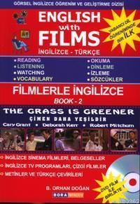 English With Films - Book: 2; İngilizce Türkçe (DVD Film Hediyeli)