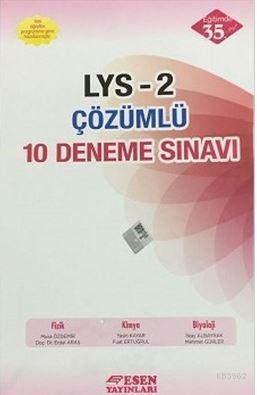 LYS-2 Çözümlü 10 Deneme Sınavı