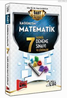 ÖABT İlköğretim Matematik 7 Fasikül Deneme Sınavı ve Çözümleri 2014