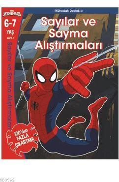Marvel Spider-Man  Sayılar ve Sayma Alıştırmaları  6- 7 Yaş
