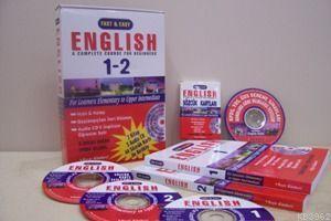 Fast - Easy, Hızlı - Kolay İngilizce Öğretim Seti (2 Kitap, 3 Cd, 44 Sözcük Kartı)