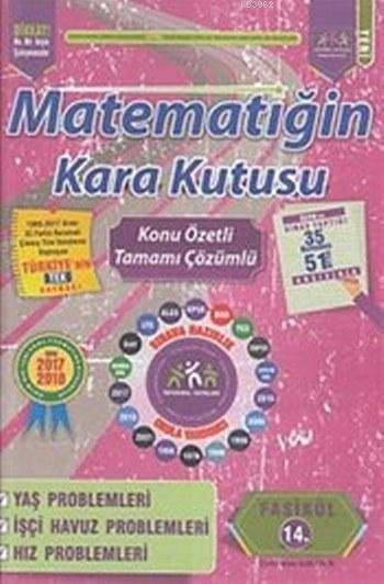 Matematiğin Kara Kutusu Konu Özetli Tamamı Çözümlü; 14. Fasikül