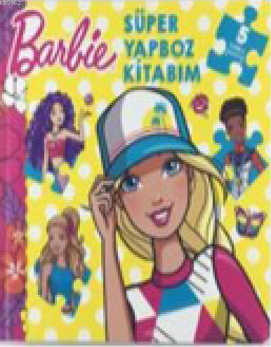 Barbie - Süper Yapboz Kitabım